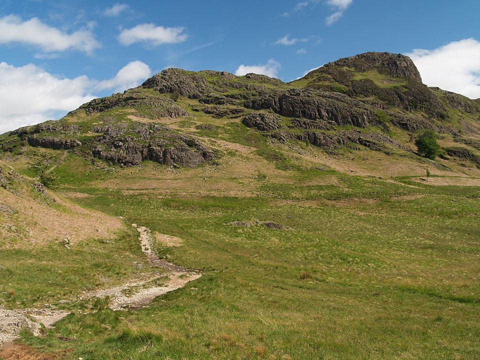 Side Pike from the Blea Tarn path