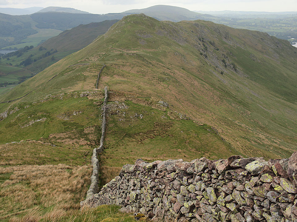 Looking back to Steel Knotts from Brownthwaite Crag
