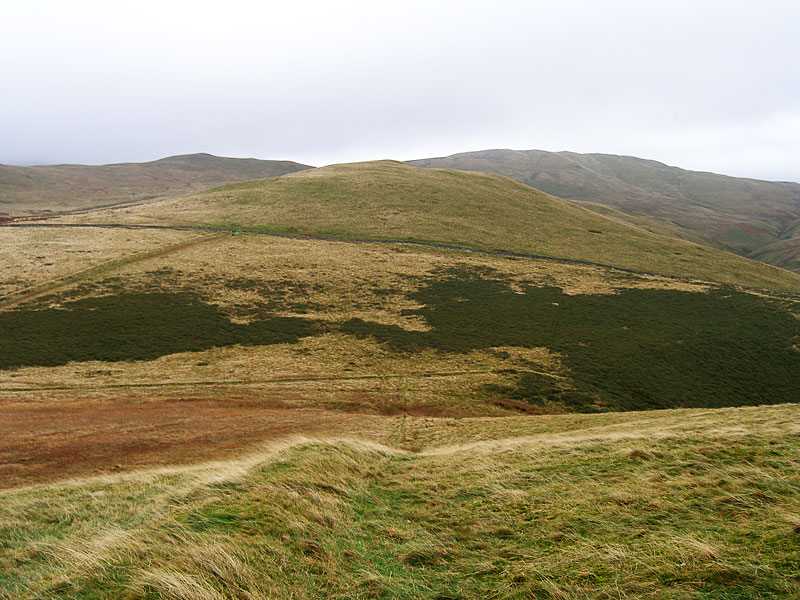 Looking from Kelton Fell to Godworth, with Gavel Fell behind